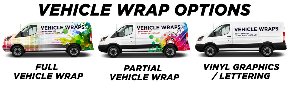 Fort Wayne Vehicle Wraps vehicle wrap options